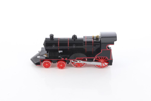 Classic Train with Sound and Lights, Black - ModelToyCars SL675DB - Diecast Toy Train