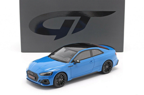 2020 Audi RS 5 Coupe, Turbo Blue - GT Spirit GT311 - 1/18 scale Resin Model Toy Car
