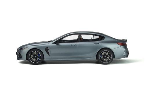 2020 BMW M8 Gran Coupe Competition, Frozen Bluestone Metallic Blue - GT Spirit GT846 - 1/18 scale Resin Model Toy Car