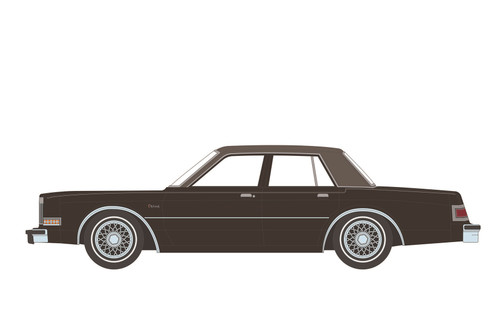 1982 Dodge Diplomat, Beverly Hills Cop II - Greenlight 44910B/48 - 1/64 scale Diecast Model Toy Car