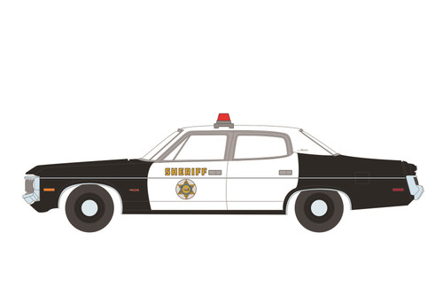 Los Angeles County Sheriff 1973 AMC Matador, Gone in Sixty Seconds - Greenlight 44910A/48 - 1/64 scale Diecast Model Toy Car