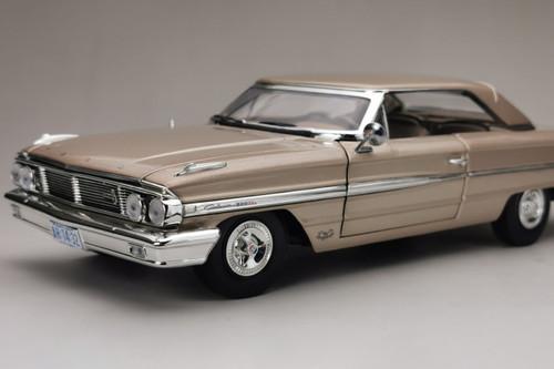 1964 Ford Galaxie 500/XL Hardtop, Chantilly Beige/Tan - Sun Star 1436 - 1/18 scale Diecast Model Toy Car