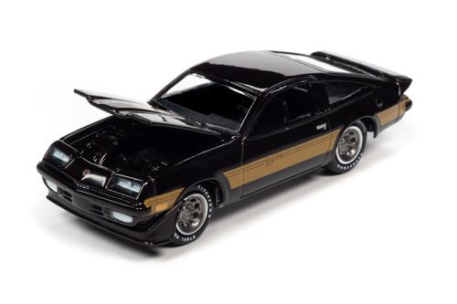 1980 Chevy Monza Spyder, Dark Claret Burgundy - Johnny Lightning JLCG024/48A - 1/64 scale Diecast Model Toy Car