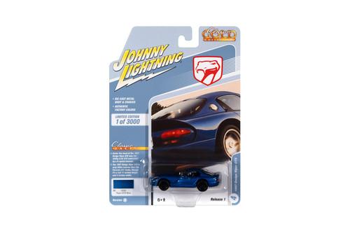 1997 Dodge Viper GTS, Blue Metallic - Johnny Lightning JLCG024/48B - 1/64 scale Diecast Model Toy Car