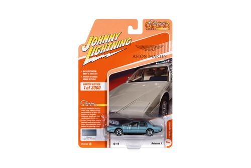 1983 Lagonda Custom, Light Blue Metallic - Johnny Lightning JLCG024/48A - 1/64 scale Diecast Model Toy Car