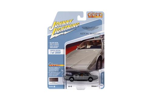 1983 Lagonda Custom, Gunmetal Gray Metallic - Johnny Lightning JLCG024/48B - 1/64 scale Diecast Model Toy Car