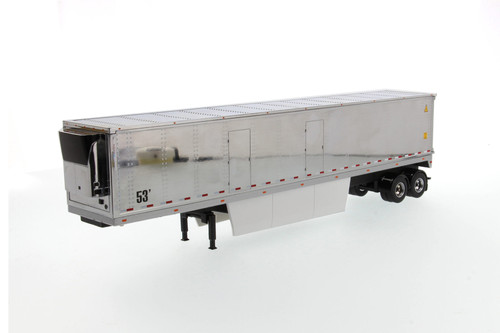 53' Reefer Refrigerated Van, Silver - Diecast Masters 91022 - 1/50 scale Diecast Replica