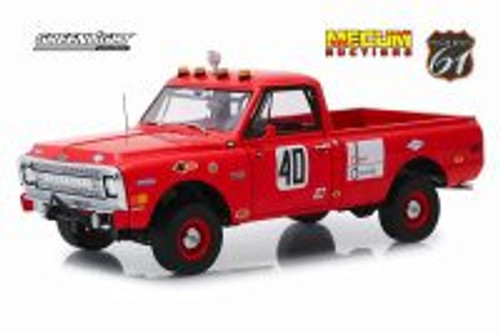 1969 Chevy C10 Baja 1000 Pickup Truck, #40 - Greenlight HWY18007 - 1/18 scale Diecast Model Toy Car