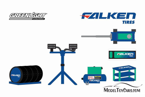 Shop Tool Accessories Series 3, Falkin Tires - Greenlight 16060A/48 - 1/64 scale Diecast Accessory