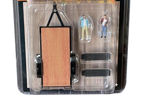 Haul N Go 1 Set, Silver - American Diorama 38377MJ - 1/64 scale Figurine - Diorama Accessory