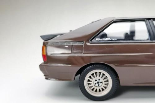 1983 Audi Quattro Coupe, Havana Brown - Sun Star 4162 - 1/18 scale Diecast Model Toy Car