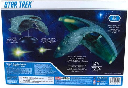AMT Star Trek Romulan Warbird, 1/3200 scale Plastic Model Car Kit - AMT1125M