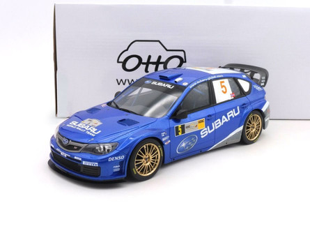 2008 Subaru Impreza 3 WRC, #5 Petter Solberg - Ottomobile OT365 - 1/18 scale Resin Model Toy Car