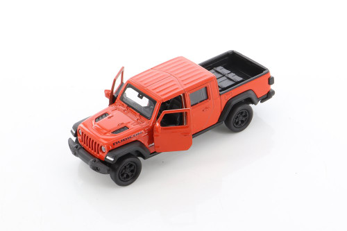 2020 Jeep Gladiator Pickup, Red - Welly 43788D - 1/34 scale Diecast Model Toy Car