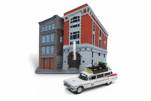 Ecto 1A, white - Round 2 JLDR002/24 - 1/64 Scale Diecast Model Toy Car