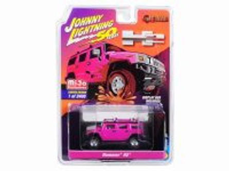 Hummer H2, 50th Anniversary - Johnny Lightning JLCP7210-24 - 1/64 scale Diecast Model Toy Car