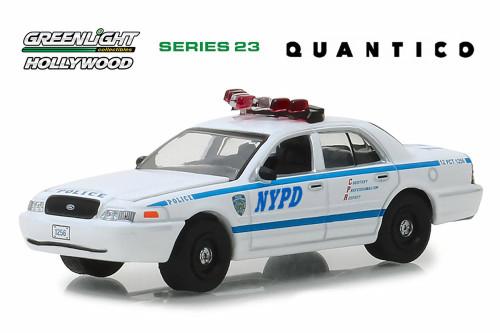 2003 Ford Crown Victoria Police Interceptor, Quantico - Greenlight 44830F/48 - 1/64 Scale Diecast Model Toy Car
