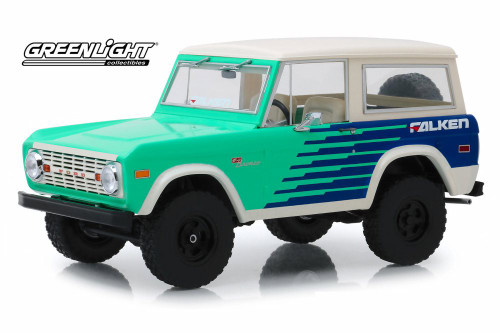 1976 Ford Bronco, Falken Tires - Greenlight 19070 - 1/18 scale Diecast Model Toy Car