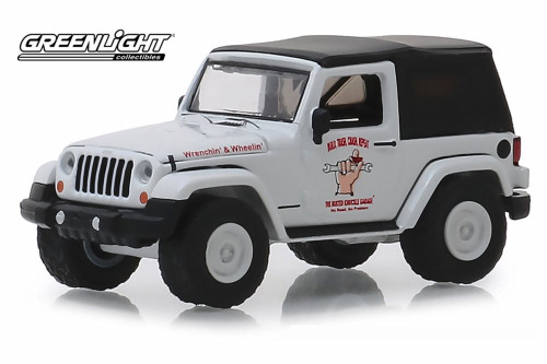 2012 Jeep Wrangler, Off Road Adventures - Greenlight 39010/48 - 1/64 scale Diecast Model Toy Car