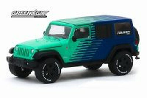 2017 Jeep Wrangler Unlimited, Falken Tires - Greenlight 30124/48 - 1/64 scale Diecast Model Toy Car