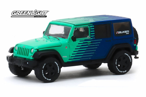 2017 Jeep Wrangler Unlimited , Falken Tires - Greenlight 30124/48 - 1/64 scale Diecast Model Toy Car