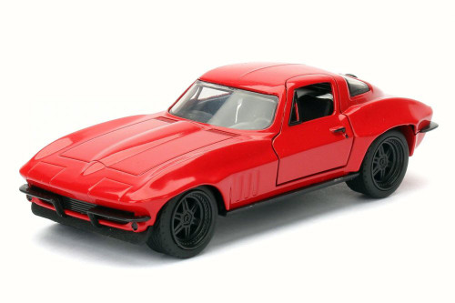 Letty's Chevy Corvette®, Red - Jada 98674DP3 - 1/32 Scale Diecast Model Toy Car