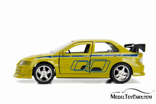 Mitsubishi Lancer Evolution VII, Fast and Furious - Jada 99789 - 1/32 Scale Diecast Model Toy Car