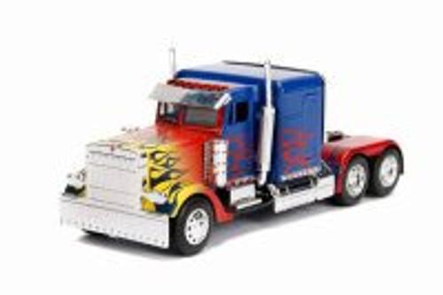 T1 Optimus Prime Truck, Transformers - Jada 30877DP1 - 1/32 scale Diecast Model Toy Car