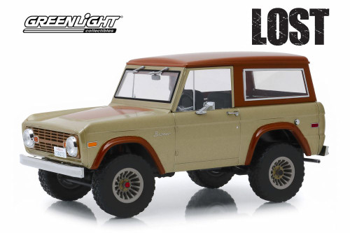 1970 Ford Bronco, LOST - Greenlight 19057 - 1/18 scale Diecast Model Toy Car