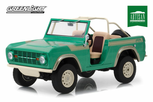 1976 Ford Bronco, Twin Peaks - Twin Peakslight 19034 - 1/18 scale Diecast Model Toy Car