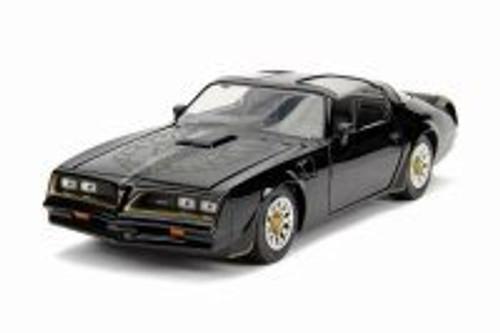 1977 Pontiac Firebird T-Top, Black - Jada 30756 - 1/24 scale Diecast Model Toy Car