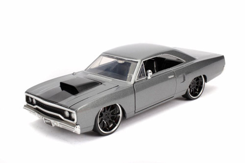 Plymouth Road Runner Hardtop, Fast & Furious - Jada 30745 - 1/24 scale Diecast Model Toy Car