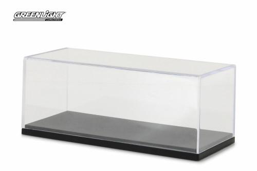 1:43 Scale Acrylic Display Case w/ Plastic Base - Greenlight 55023 - 1/43 Scale Diecast Model Car Accessory