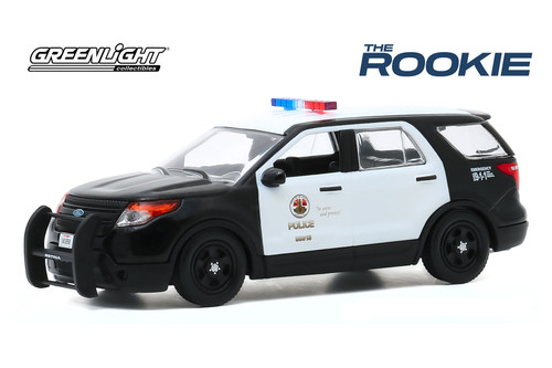 Los Angeles Police Department 2013 Ford Police Interceptor Utility, The Rookie - Greenlight 86587 - 1/43 scale Diecast Model Toy Car