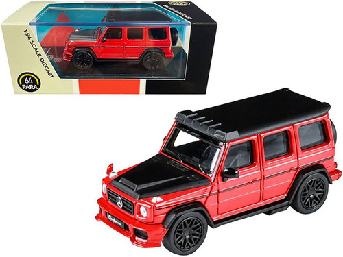 2018 Mercedes-Benz Liberty Walk AMG G63, Red - Paragon PA55162R - 1/64 scale Diecast Model Toy Car