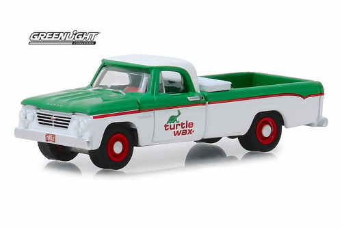 1962 Dodge D-100, Turtle Wax - Greenlight 41070/48 - 1/64 Scale Diecast Model Toy Car