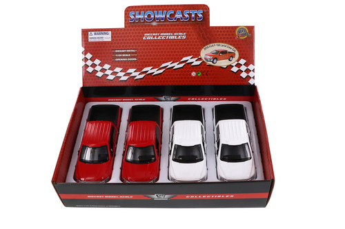 MotorMax 2019 Ford F-150 Lariat Crew Cab Pickup Diecast Car Set - Box of 4 1/24 Scale Diecast Model Cars, Assorted Colors