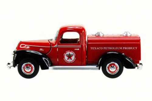 1940 Ford Tanker Texaco, Red - Texaco 0610R - 1/32 Scale Diecast Model Toy Car