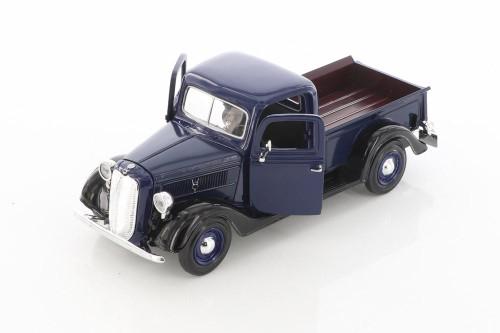 1937 Ford Pickup Truck, Blue - Showcasts 73233AC/BU - 1/24 scale Diecast Model Toy Car