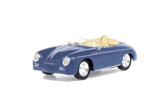 1958 Porsche 356 Speedster Super, Aquamarine Blue - Greenlight 86598 - 1/43 scale Diecast Model Toy Car