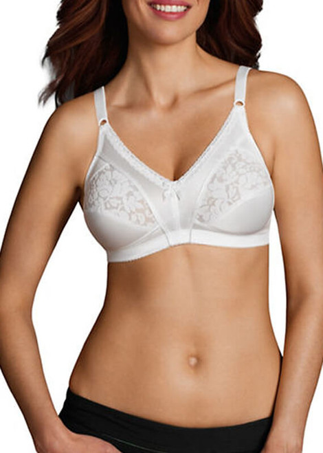 Warner's Firm Control Wire Free Bra With Cut And Sewn Cups 1044