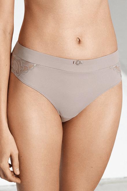 Naturana Blue Label Soft Microfiber & Lace Brief 4653
