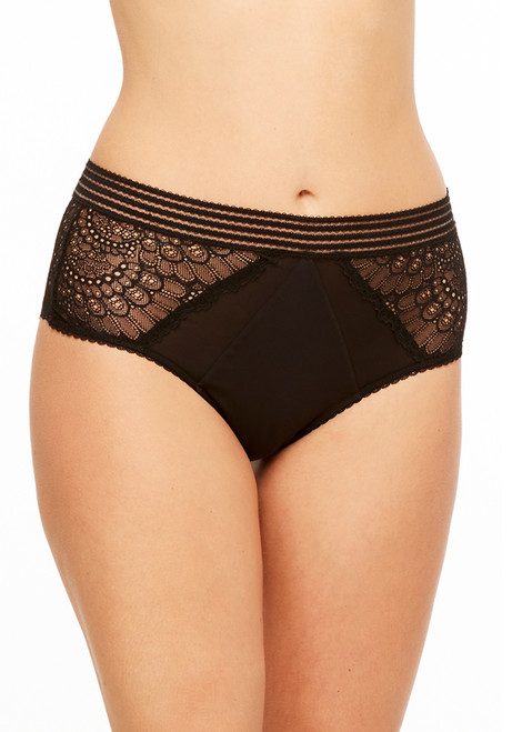 Montelle Afterdark Lace High Waist Full Coverage Panty 9075