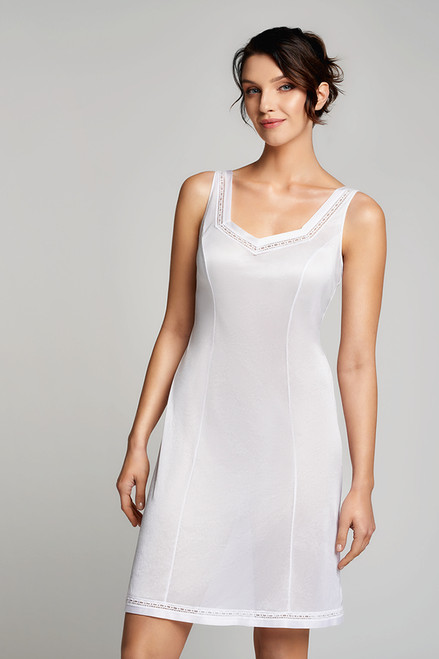 Naturana Antistatic Full Slip with Lace 14230