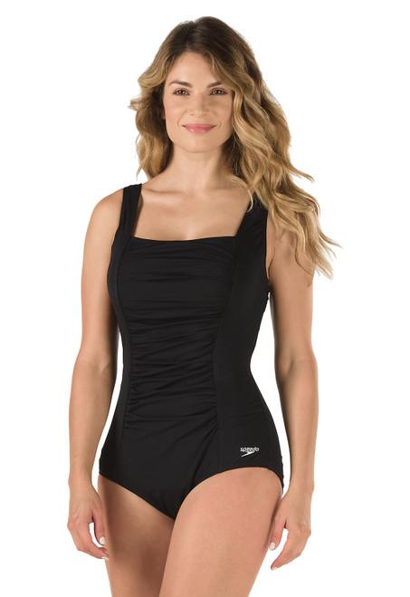 Speedo Endurance Shirred Tank Women's Fitness Swimsuit 7234015