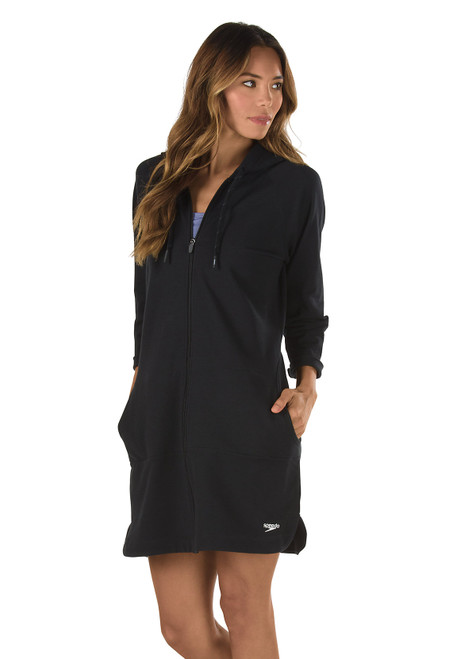 Speedo Aquatic Fitness 3/4 Robe with Hood 7237139