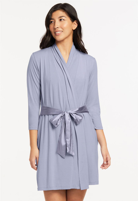 Fleur't Iconic Robe with Silk Ties 620