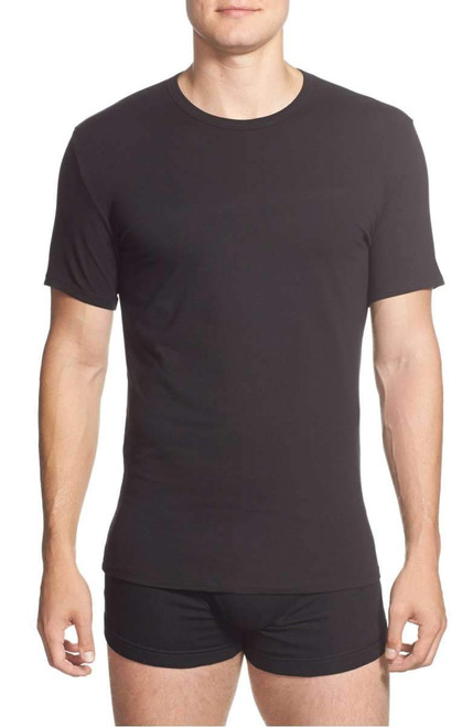 Calvin Klein Cotton Stretch Crew Neck Short Sleeve T-Shirt - 2 Pack NB1178