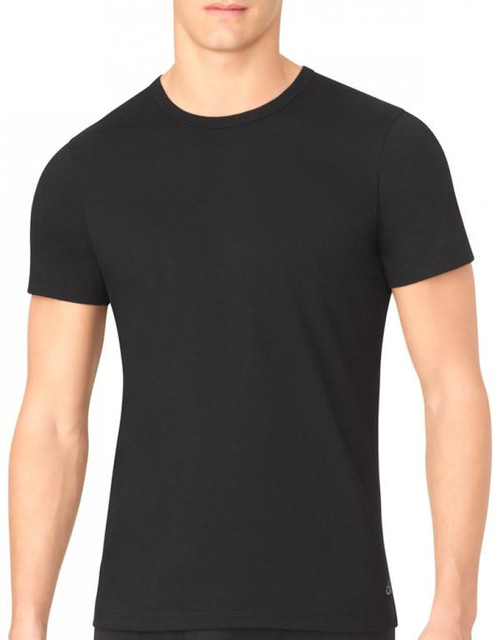 Calvin Klein Cotton Classic Slim Fit Short Sleeve Crew Neck T-Shirt - 3 Pack NB1176