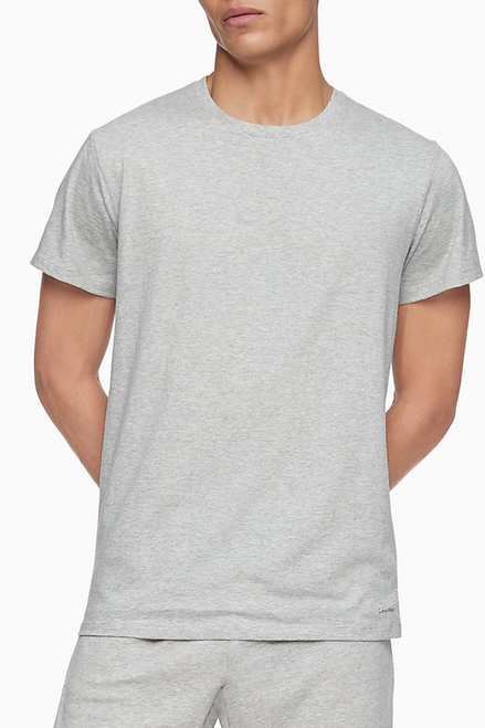 Calvin Klein Cotton Classic Fit Crew Neck T-Shirt - 3 Pack NB4011